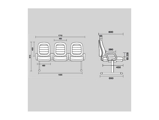 Cavaletti StartPlus - Longarina Diretor 6005 -