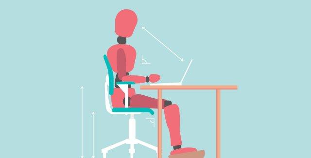 5 formas de como a ergonomia pode melhorar o seu ambiente de trabalho