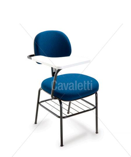 Cadeira Fixa c/ prancheta 4008 PU