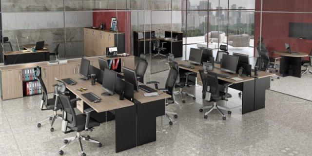 Ambiente Plataforma de Trabalho e Recepção